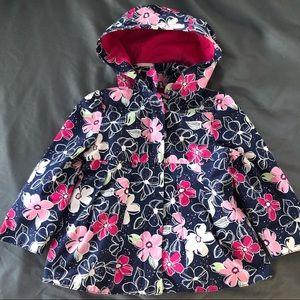 🥑 3/$25 Like new Gymboree floral jacket 2T-3T